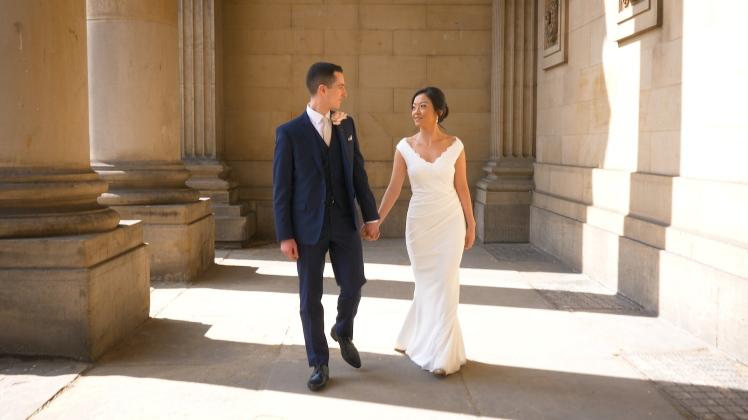 wedding videographer leeds oulton hall town hall montage videography